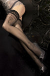 Ballerina Hush Hush Black Hold Ups - The Hosiery Box