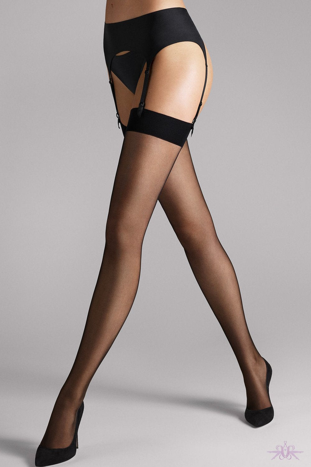 e5f08d0e1 Wolford Satin Stocking Belt at The Hosiery Box  Luxury Stockings ...