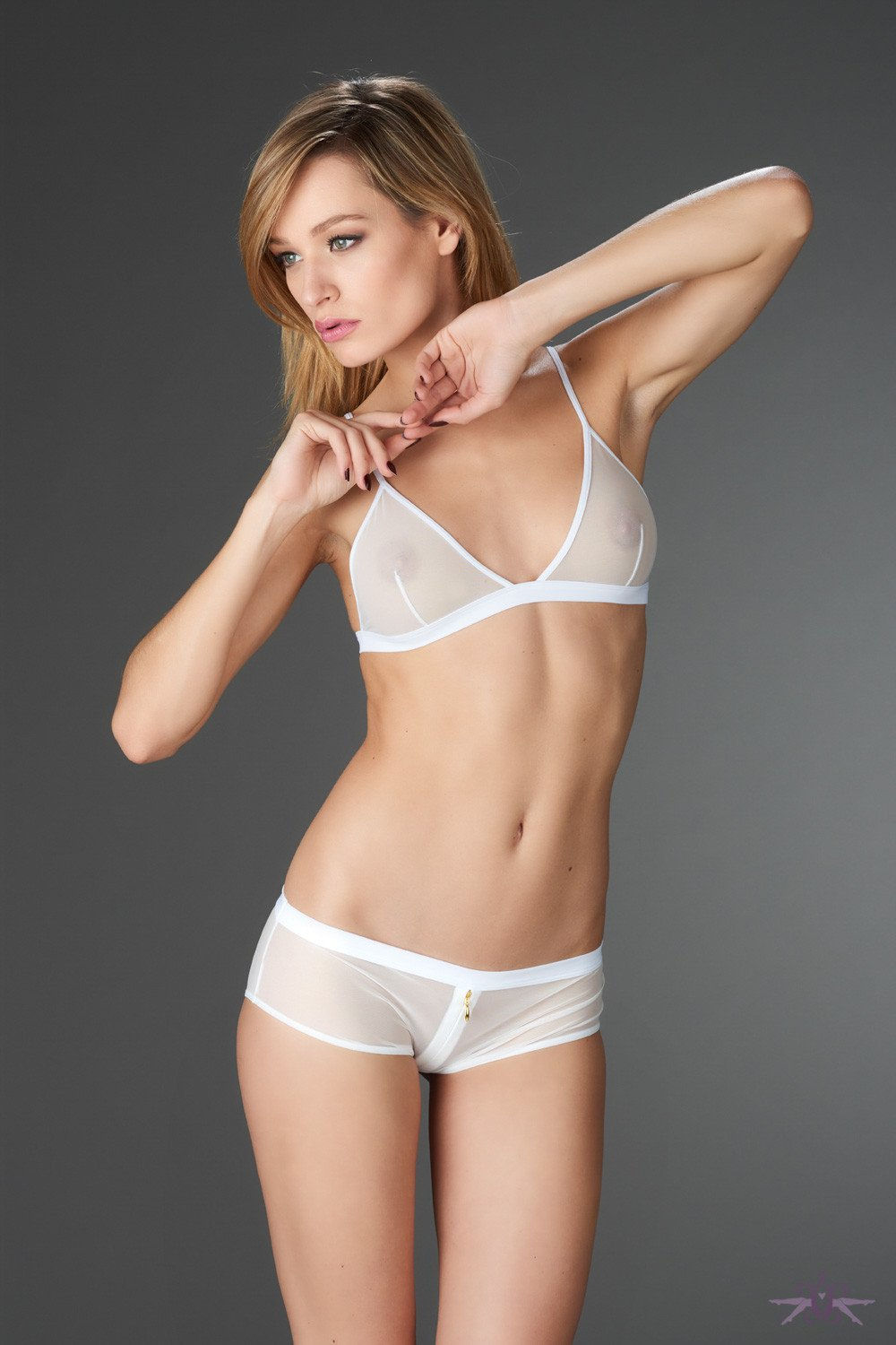 Maison Close Pure Tentation White Triangle Bra - The Hosiery Box