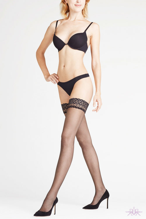Falke Shelina 12 Hold Ups - The Hosiery Box