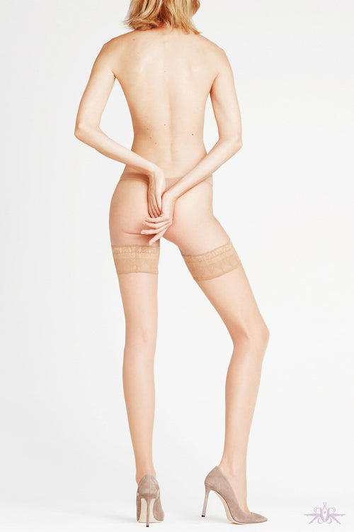 Falke Lunelle 8 Hold Ups - The Hosiery Box
