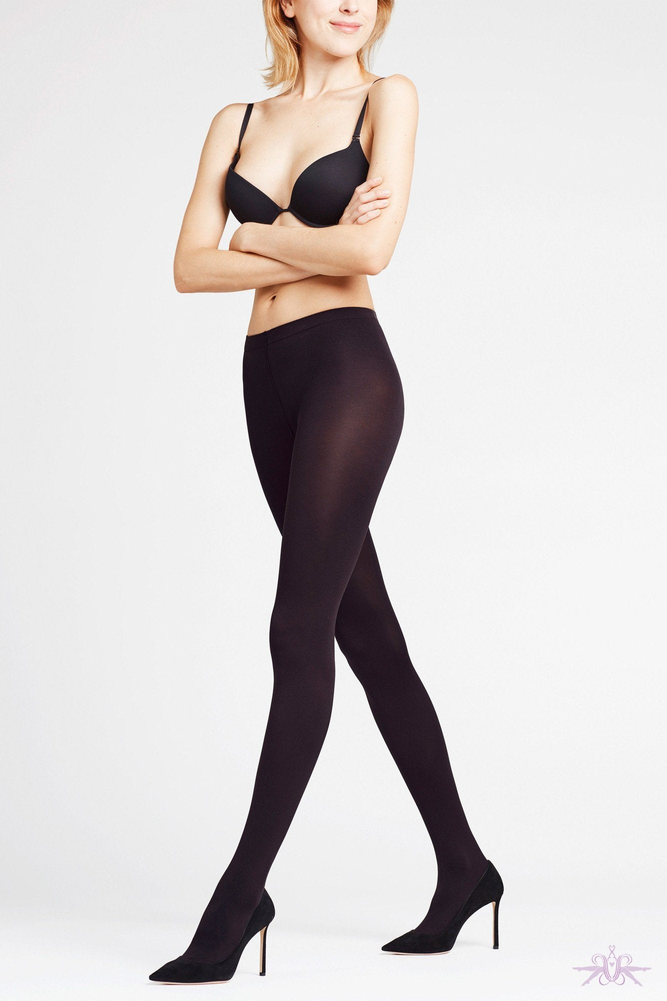 Falke Seidenglatt 70 Opaque Tights - The Hosiery Box