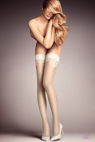 Falke Ceremonial Hold Ups - The Hosiery Box