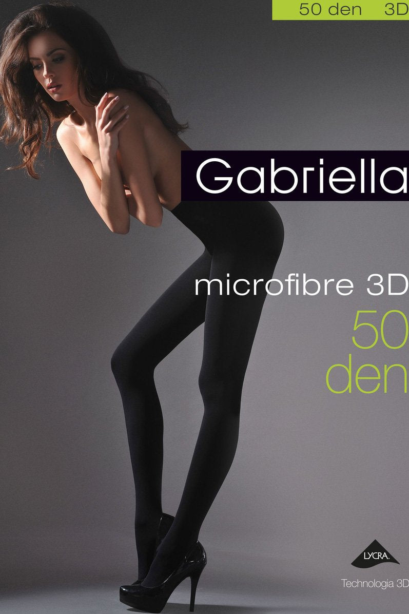 Gabriella Microfibre 50D Opaque Tight - The Hosiery Box