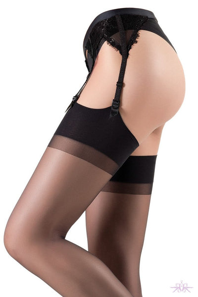Oroblu Party Suspender and Stockings Set - The Hosiery Box
