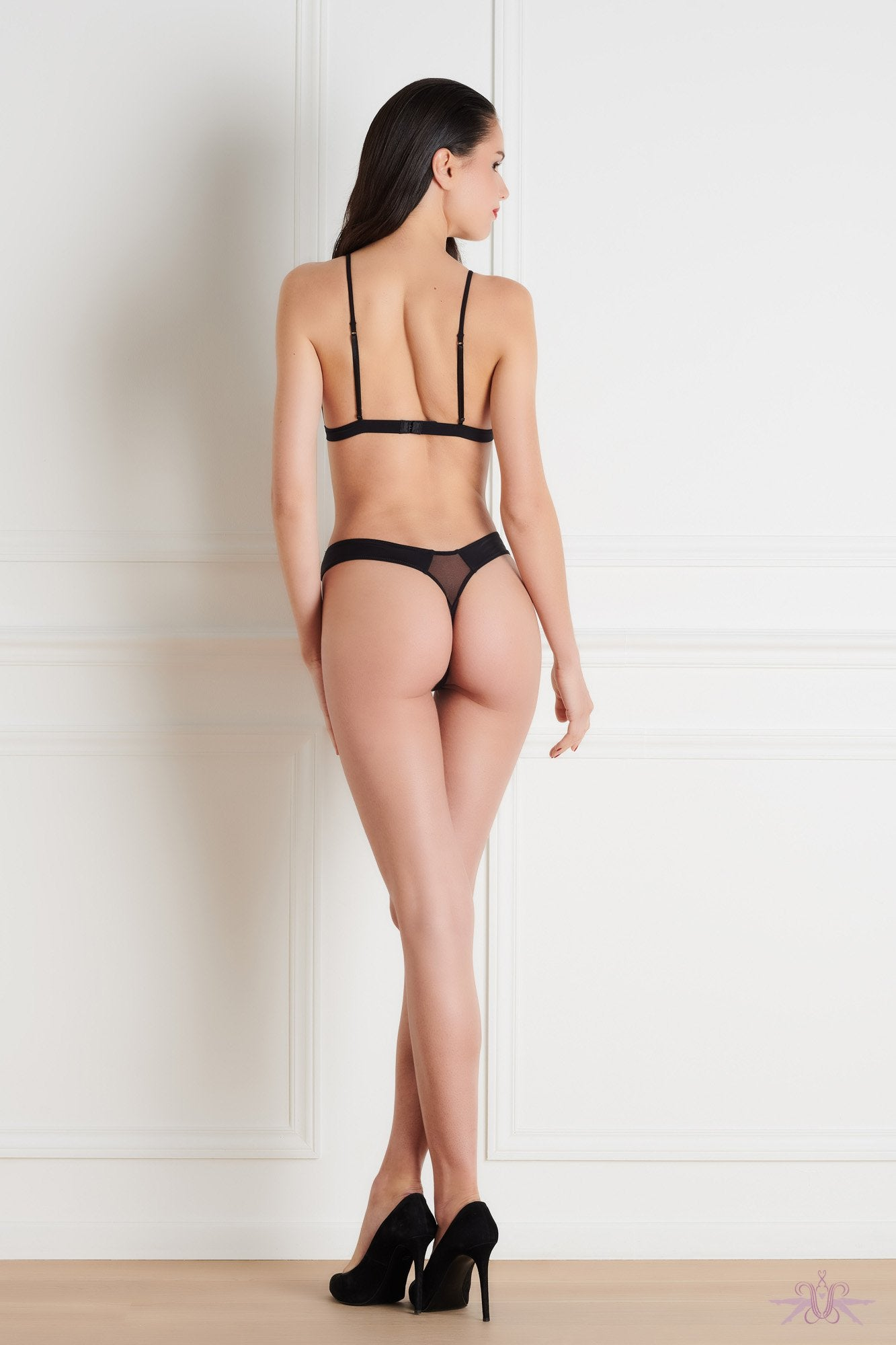 Maison Close Pure Tentation High Thong - The Hosiery Box