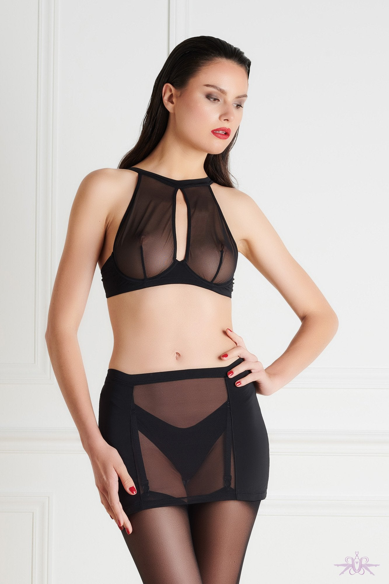 Maison Close Pure Tentation Girdle - The Hosiery Box