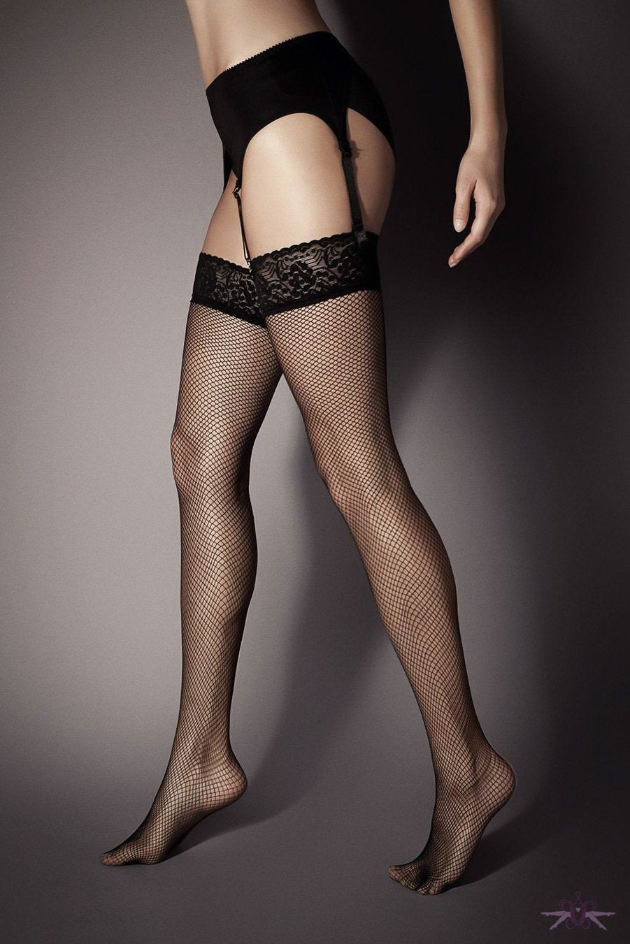 Veneziana Rete Fishnet Stockings - The Hosiery Box