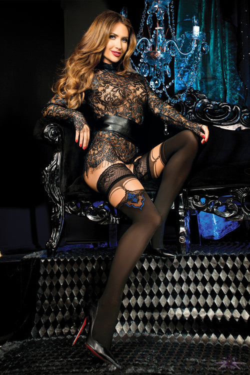Ballerina Taylor Hold Ups - The Hosiery Box