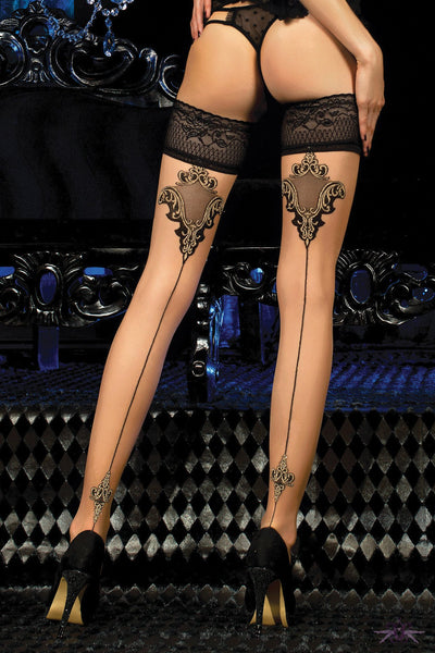 Ballerina Madison Hold Ups - The Hosiery Box