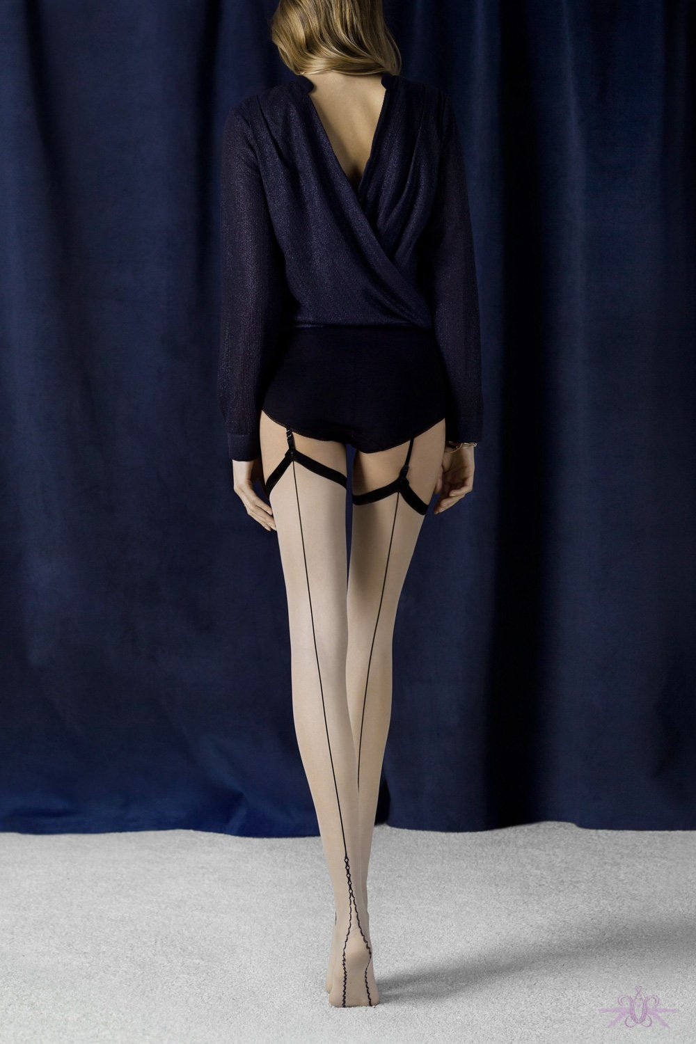 Fiore Provoke Seamed Stockings
