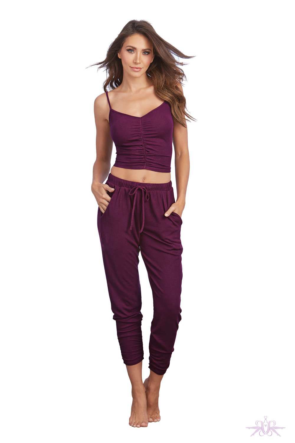 Mulberry Camisole and Lounge Pants