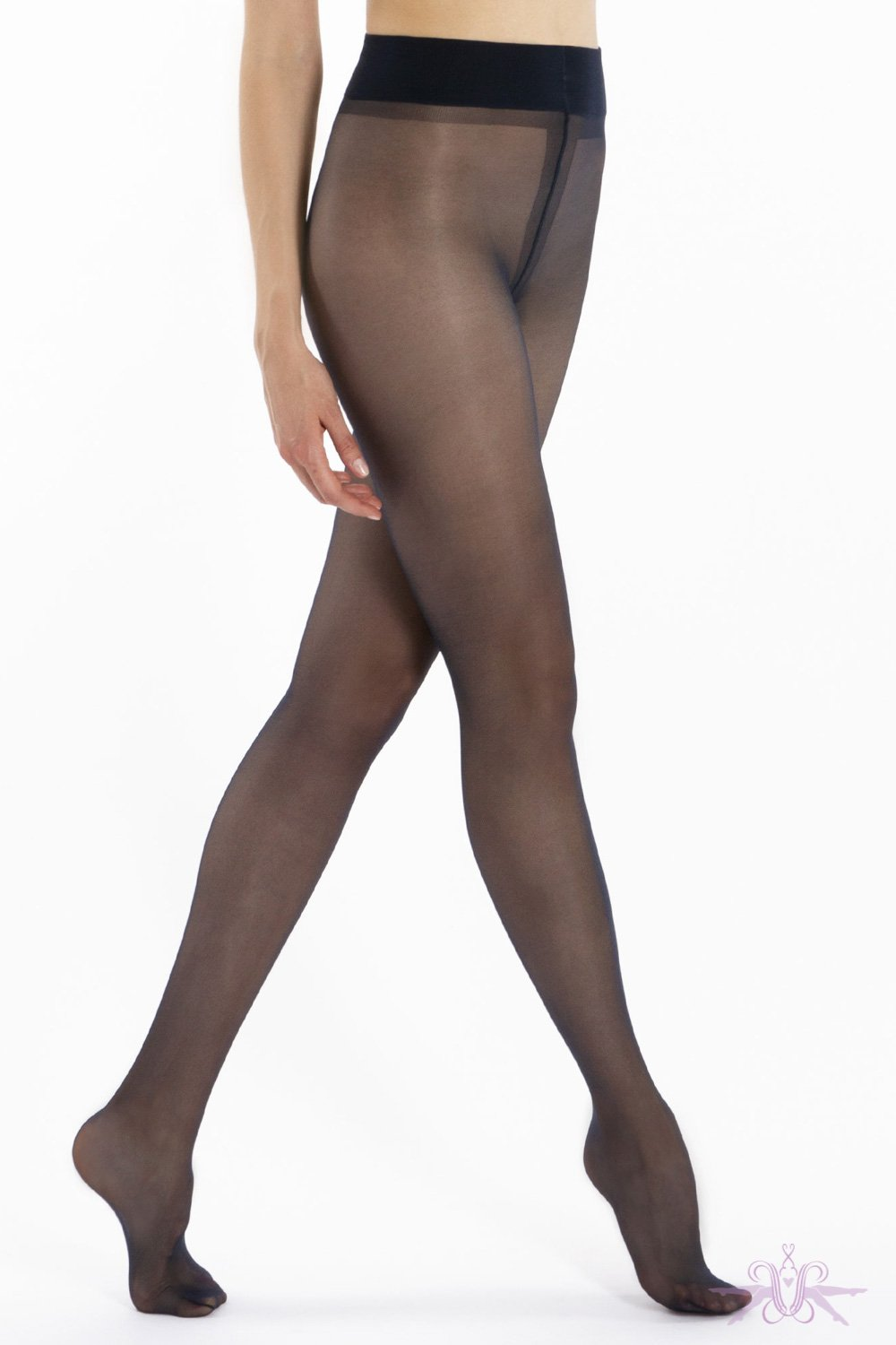 Le Bourget Retro Contrast Welt Stockings - Mayfair Stockings