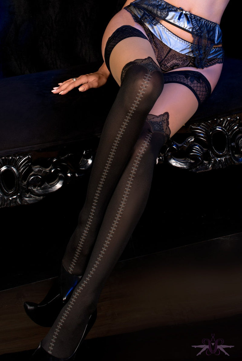 Ballerina Nashville Hold Ups - The Hosiery Box
