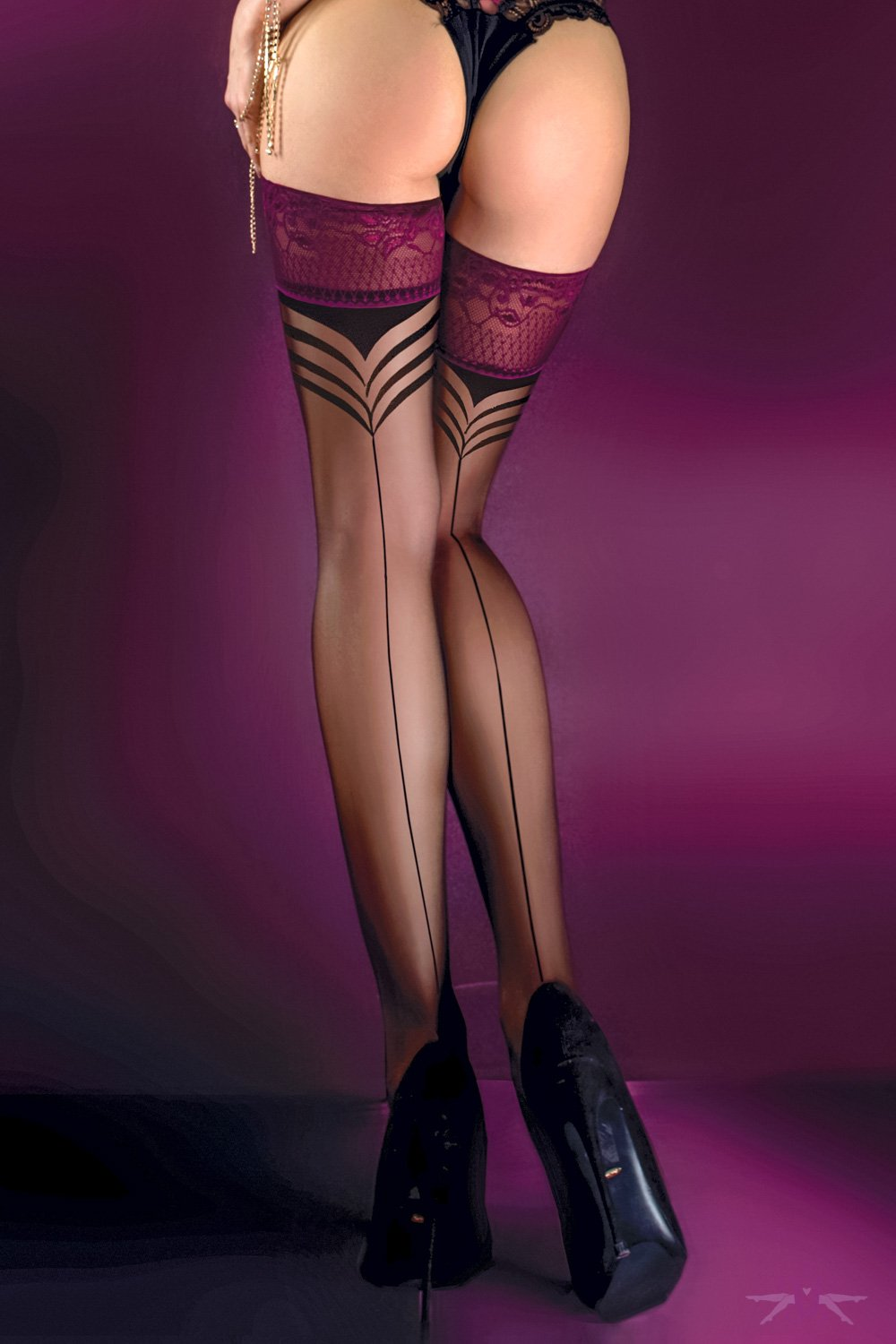 Ballerina Seduction Hold Ups
