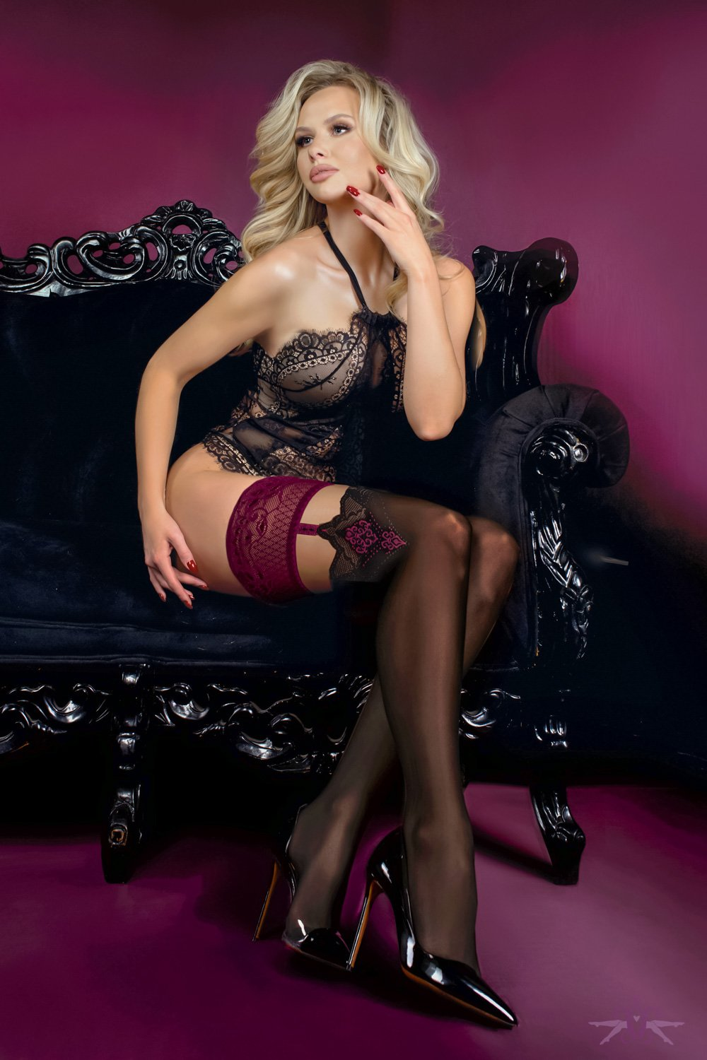 Ballerina Pleasure Hold Ups