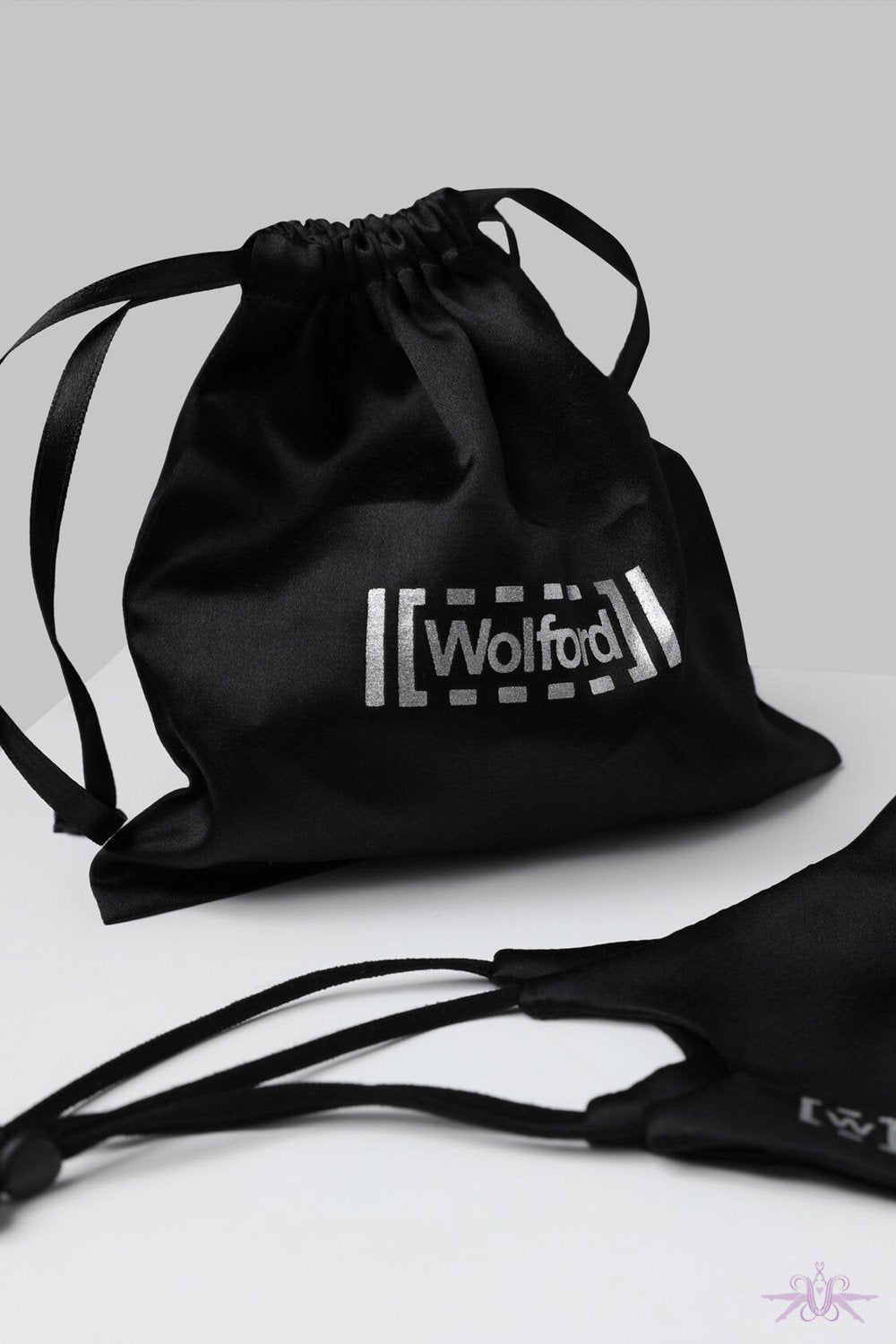Wolford Black Silk Bag