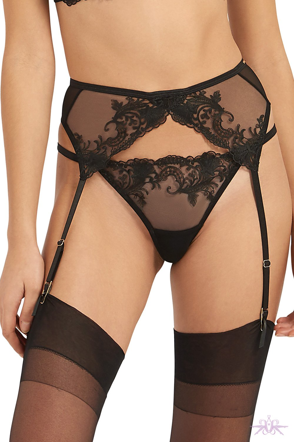 Bluebella Marseille Suspender Belt