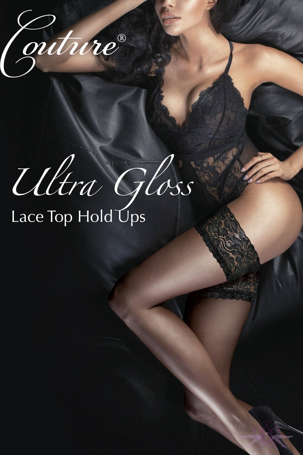 Couture Ultra Gloss Lace Hold Ups