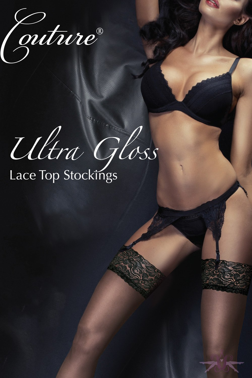 Couture Ultra Gloss Lace Stockings