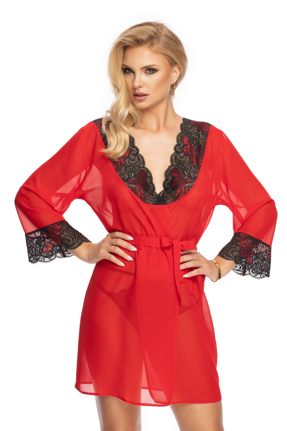 Irall Red Dressing Gown