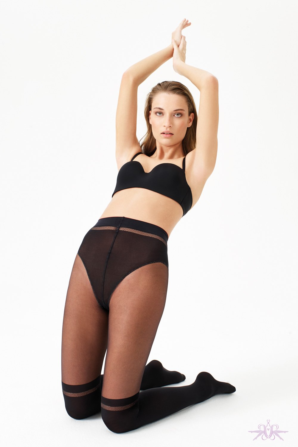 Oroblu Icon Seduction Tights Twist