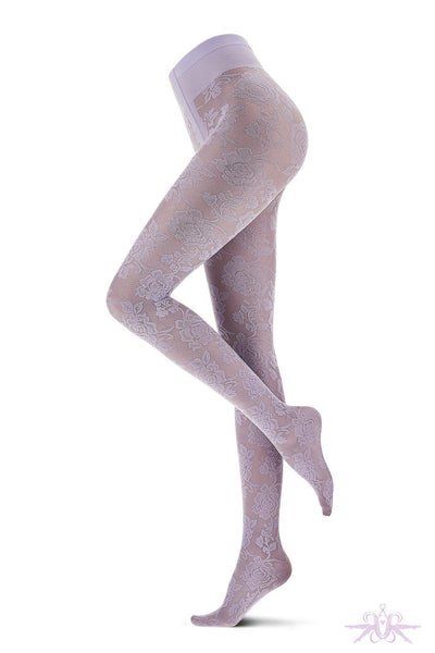 Oroblu All Colours Lace Tights - The Hosiery Box