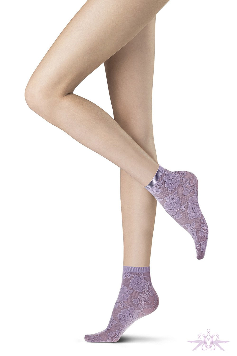 Oroblu All Colours Lace Sock - The Hosiery Box