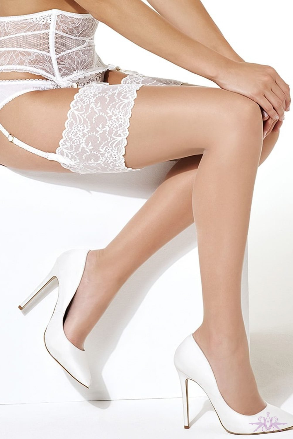 Charnos Bridal Lace Stockings
