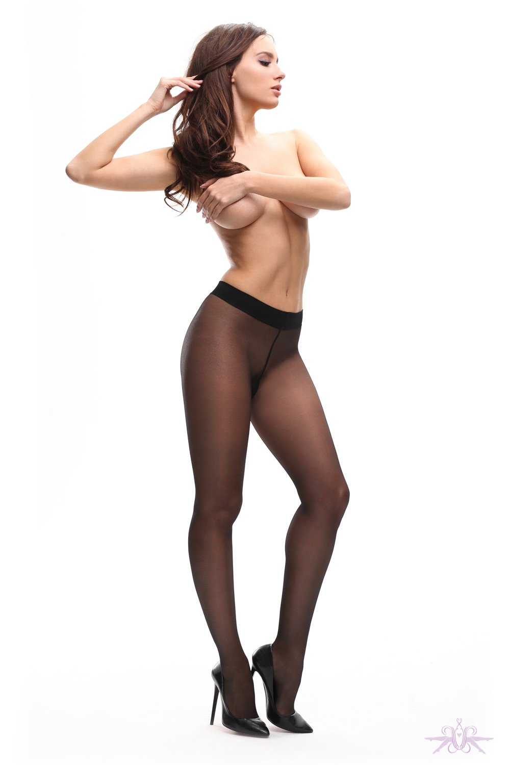 MissO 20 Denier Black Tights