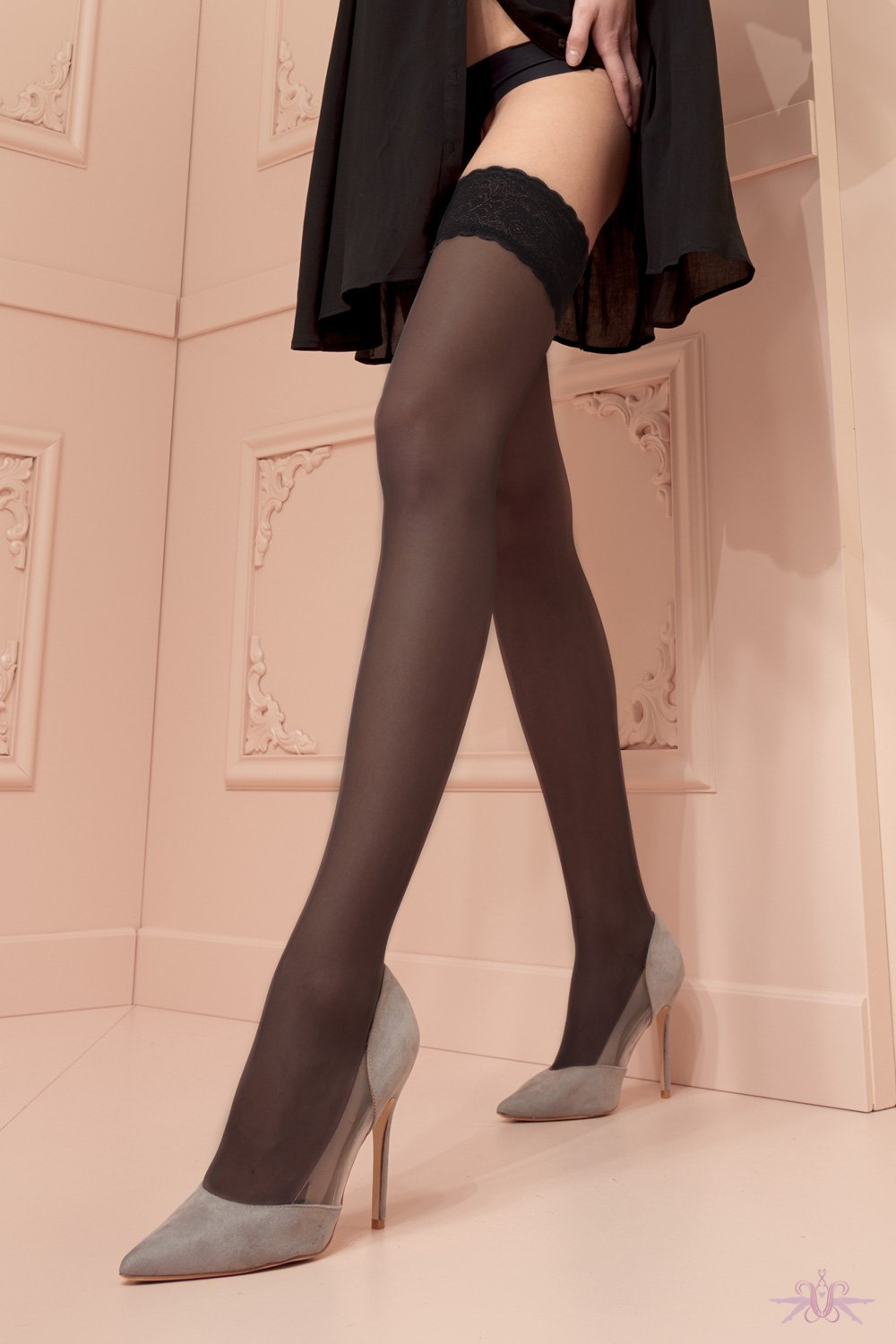 Trasparenze Rosy Hold Ups - The Hosiery Box