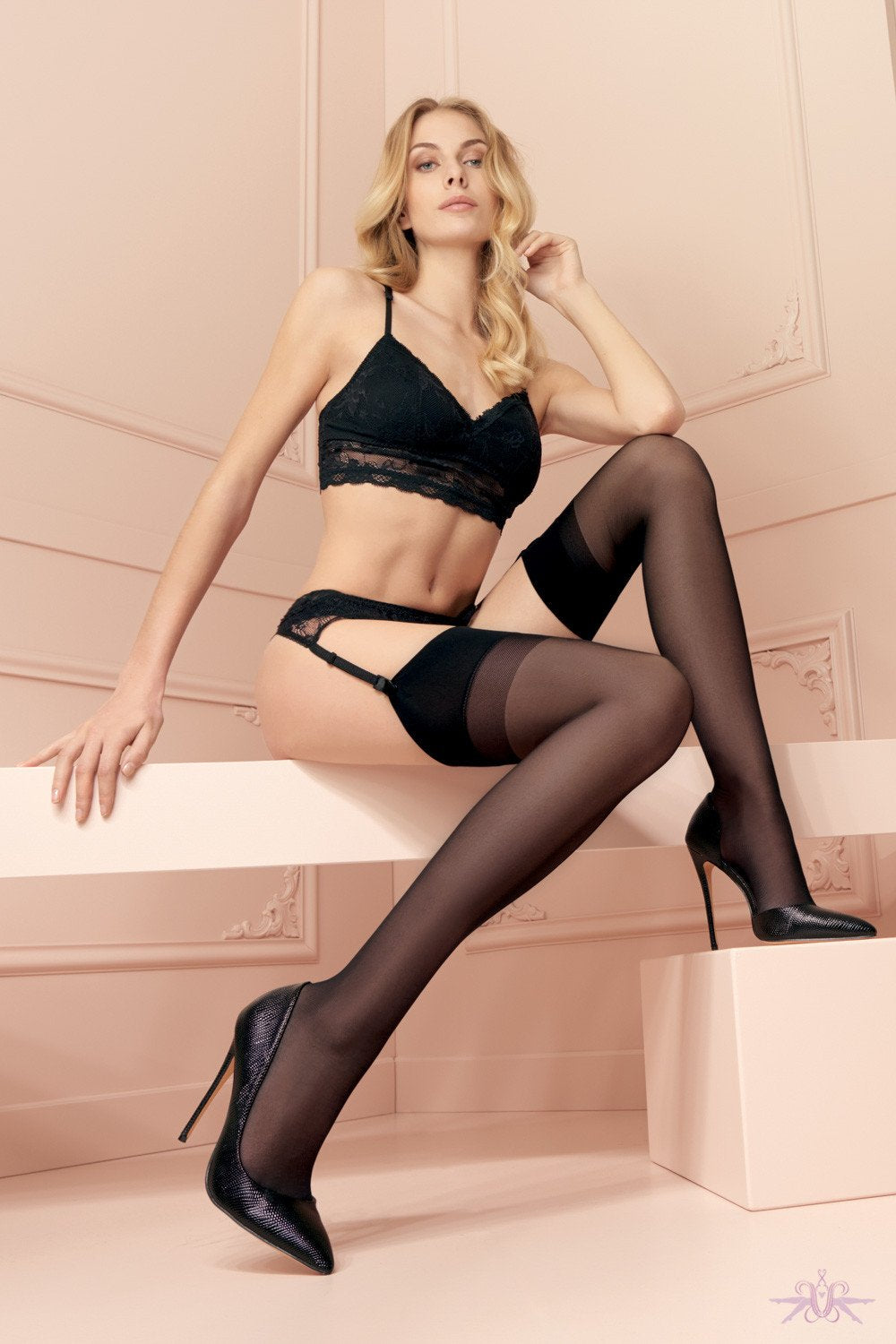Trasparenze Sara Stockings - The Hosiery Box
