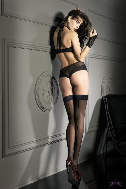Oroblu Riga 20 Hold Ups - The Hosiery Box