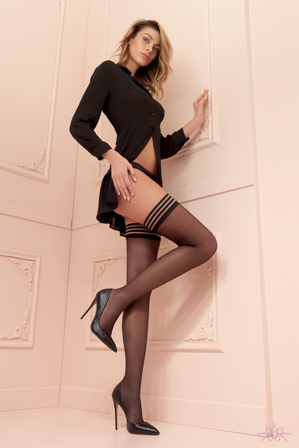 Trasparenze Valentina Hold Ups - Mayfair Stockings