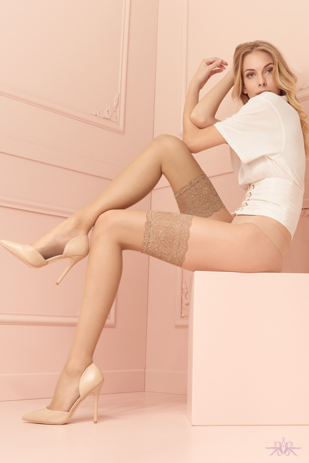 Trasparenze Voile Hold Ups - The Hosiery Box
