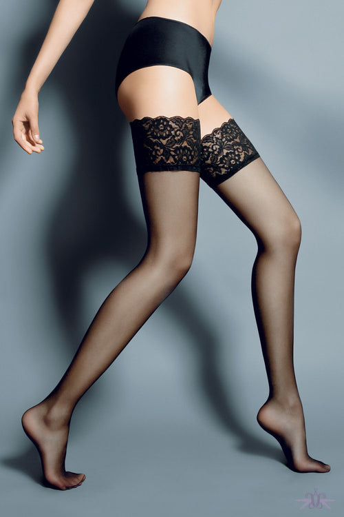 Veneziana Beautiful Hold Ups - Mayfair Stockings