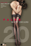 Falke Matt Deluxe 20 Hold Ups - The Hosiery Box