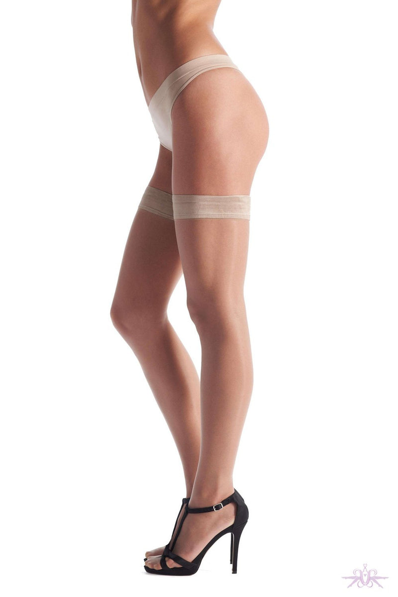 Oroblu Geo Up 8 Hold Ups - The Hosiery Box