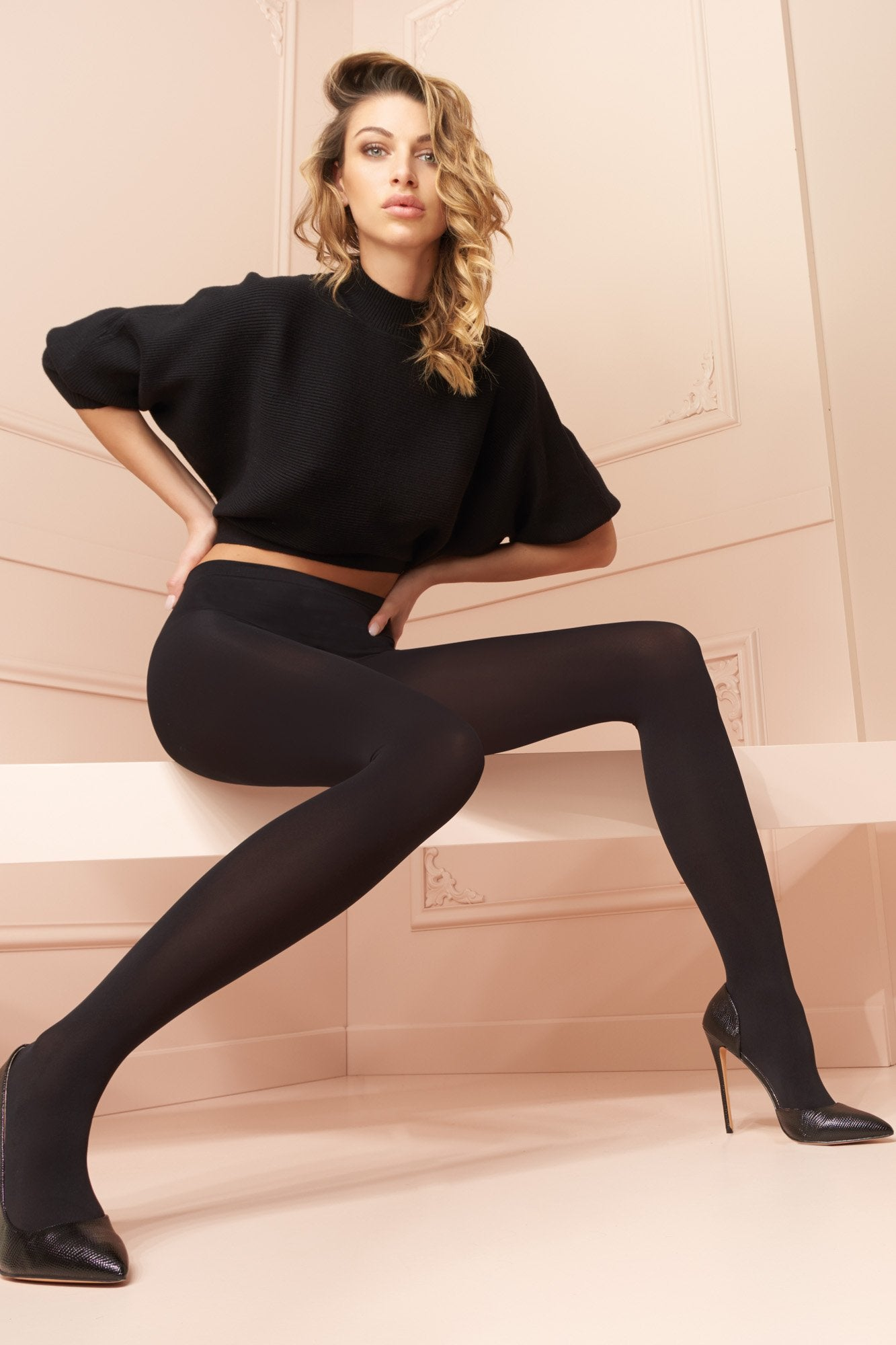 Trasparenze 100 Denier Cortina Tights - The Hosiery Box