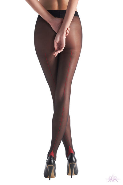 Oroblu Riga Seamed Tights - The Hosiery Box