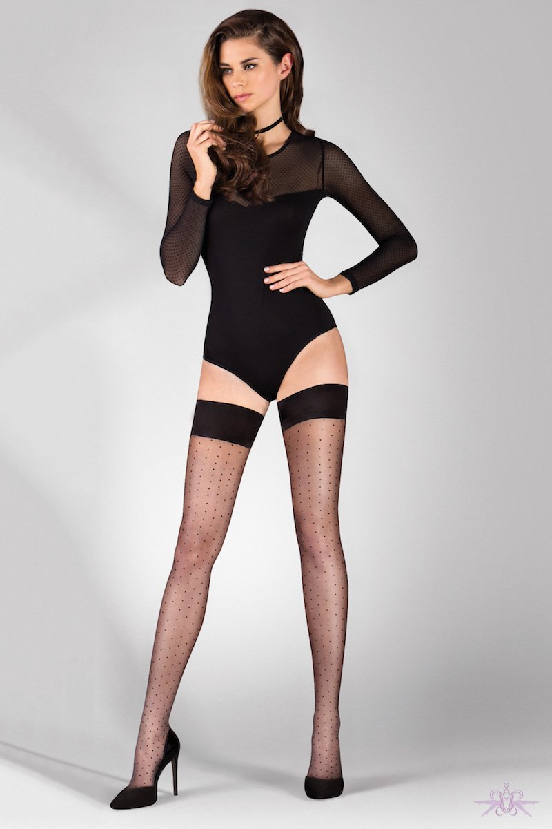 Gabriella Puntina Hold Ups - The Hosiery Box