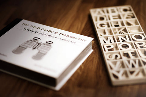 wooden puzzle of letters
