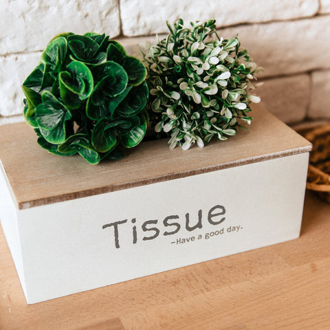wood tissue boxes for sale