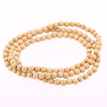Wooden Rosary Beads Necklace  -  WoodenEarth