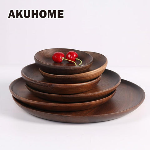 Black Walnut Handmade Plates