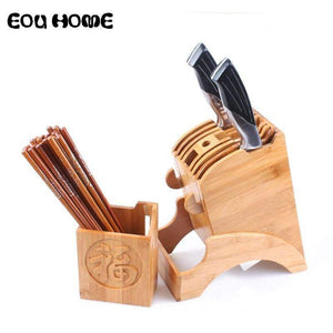 Chopsticks & Knife Holder  -  WoodenEarth