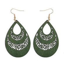 Teardrop Earrings  -  WoodenEarth