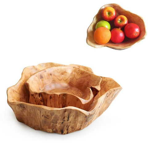 Natural Rustic Fruit Bowl