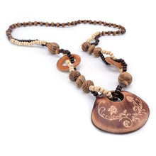 Wood Authentic Necklaces  -  WoodenEarth