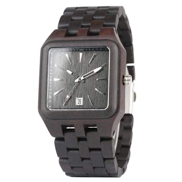 Retro Elegant Wood Watch for Men